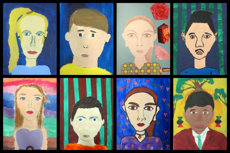 09. Yr 7 portraits