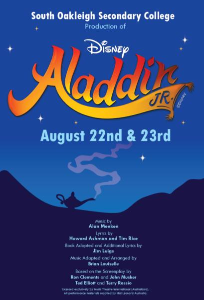 2019 Disney's Aladdin Jr